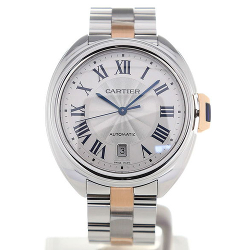 Cartier Cle De 40 Automatic Steel