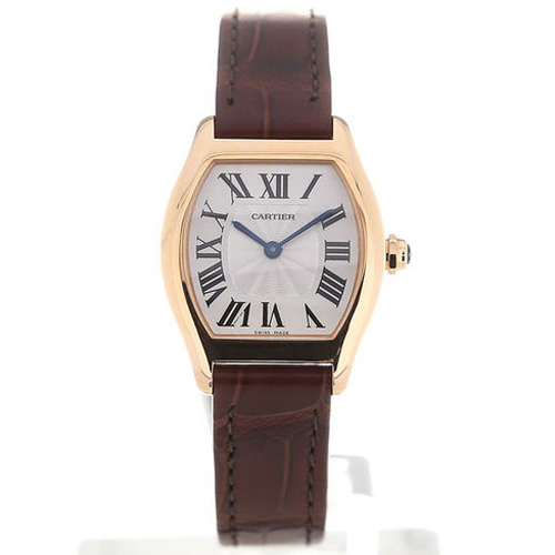 Cartier Tortue 30 Manual Leather