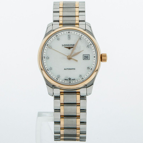 Longines Master 29 Date MOP Dial