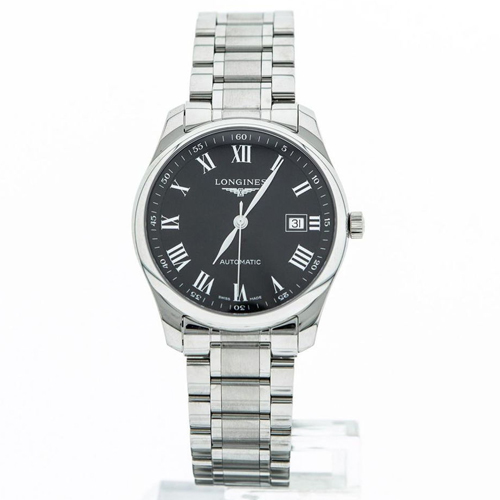 Longines Master 40 Date Black Dial