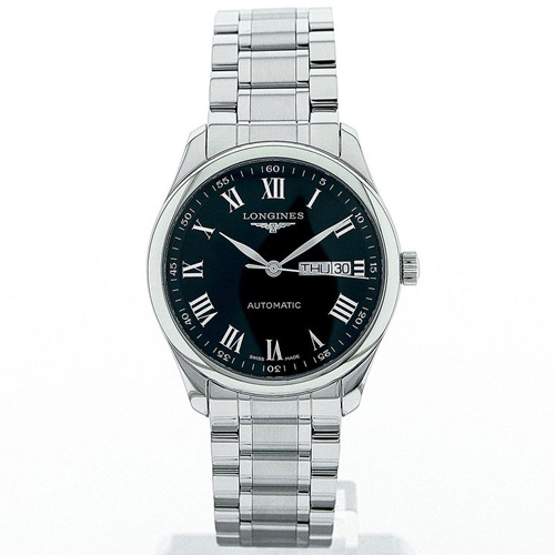 Longines Master 39 Day Date Black Dial