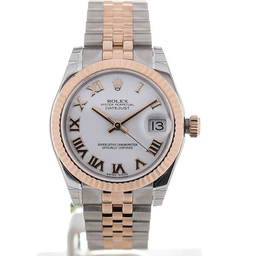 Rolex Datejust 31 Automatic White Dial